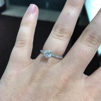 Photo of Helzberg Diamonds - Arlington, VA, United States. The engagement ring we