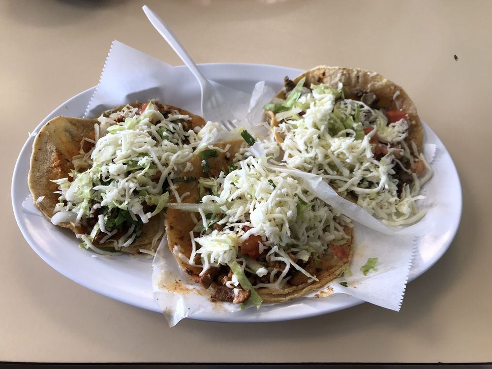 Food from Faby's Tacos