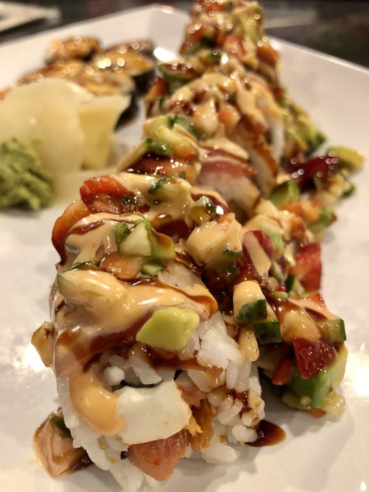 Food from Rock n Roll Sushi Jackson