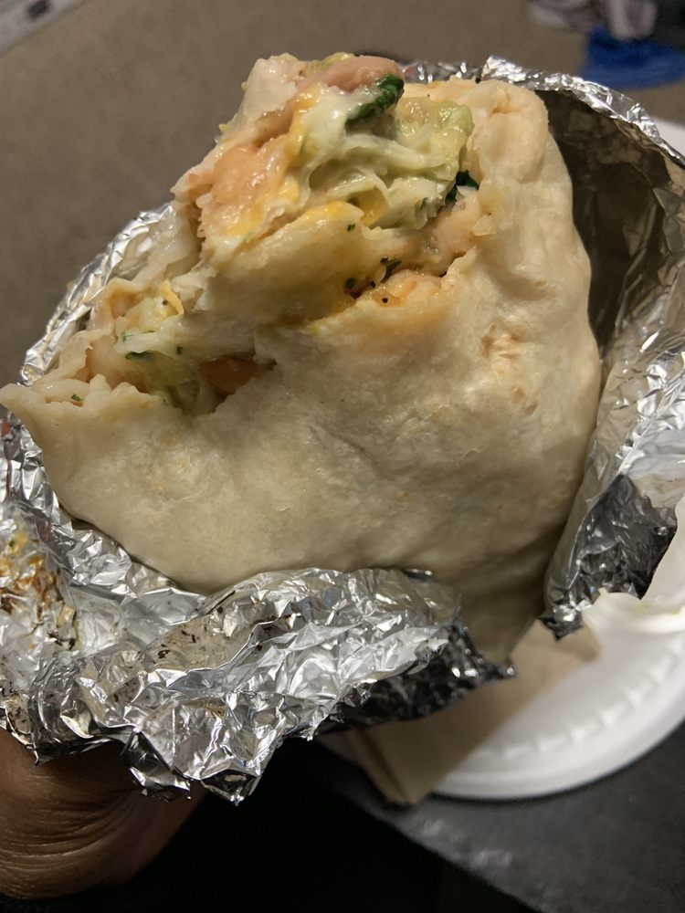 Food from Cali Burrito