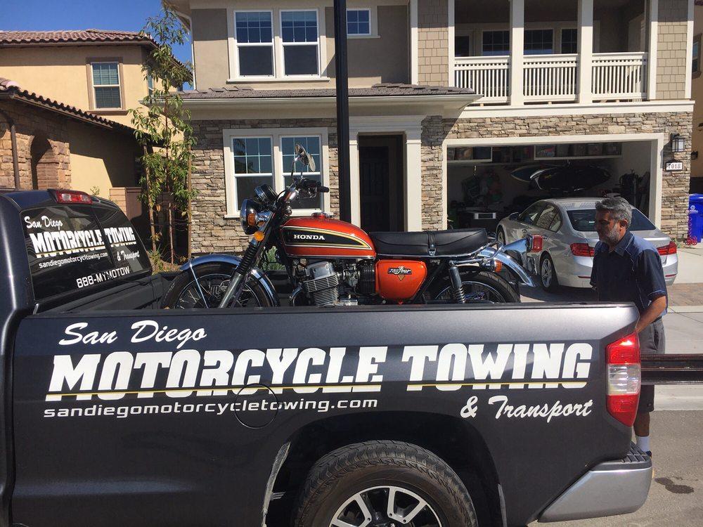 San Diego Motorcycle Towing: 350 K St, San Diego, CA