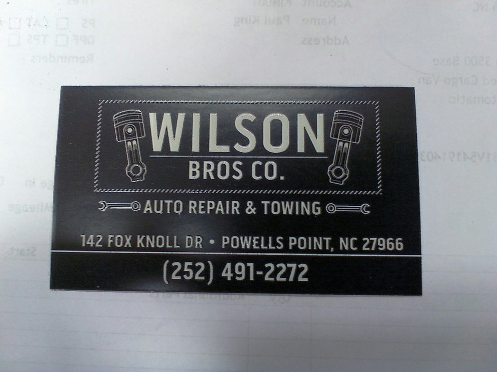 Wilson Bros.: 142 Fox Knoll Dr, Powells Point, NC