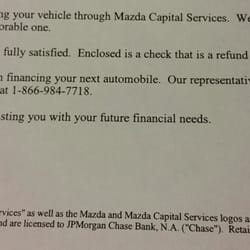 Mazda Capital Services >> Chase Auto Finance 32 Reviews Auto Loan Providers