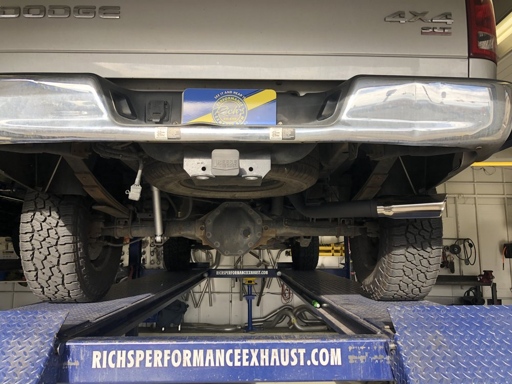 04 Dodge Ram 1500 True Dual Exhaust Magnaflow large body 3