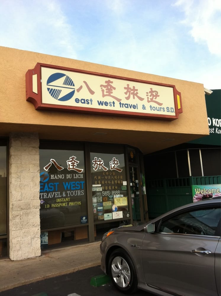 East West Travel & Tours of San Diego: 4647 Convoy St, San Diego, CA