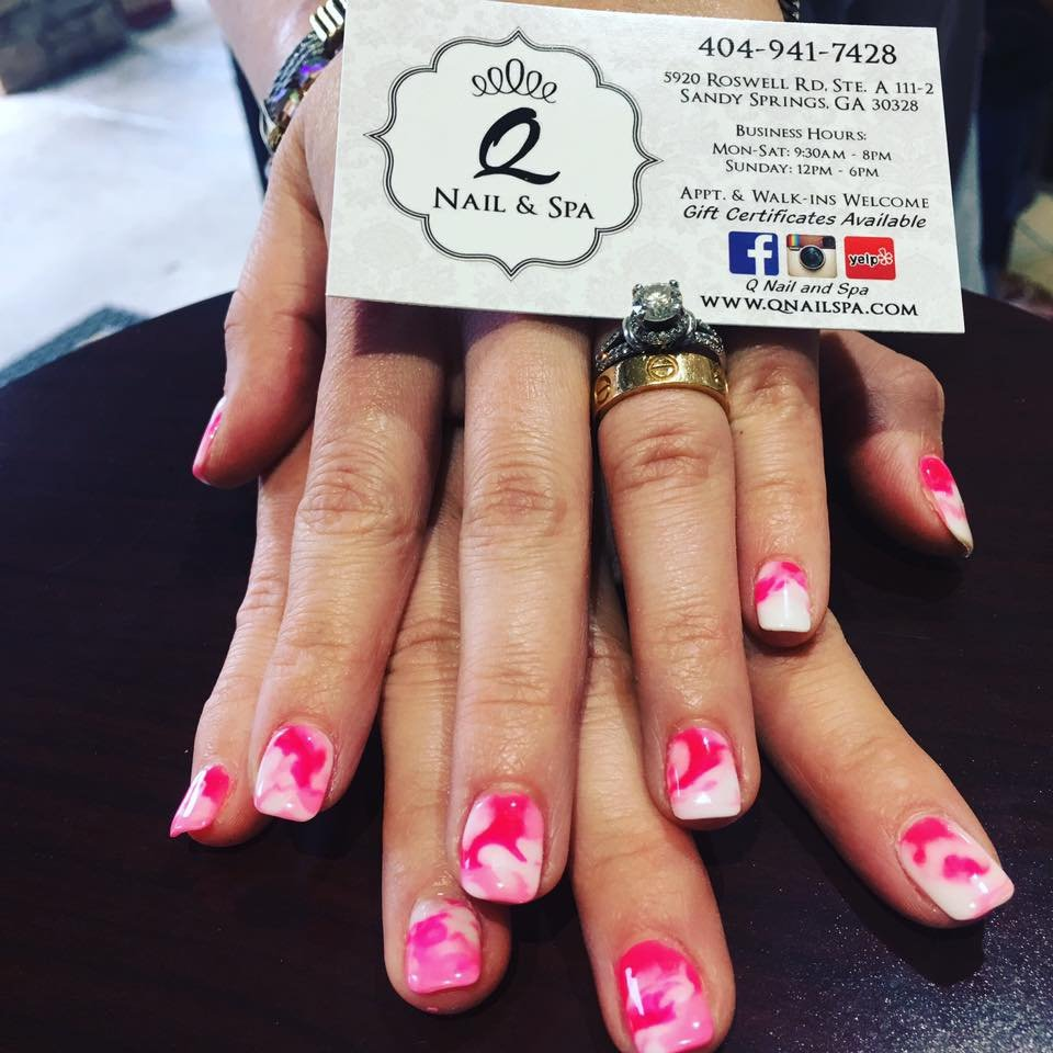 Q Nails And Spa 5920 Roswell Rd Sandy Springs GA