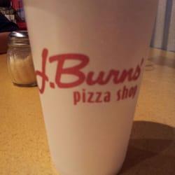 J Burns Pizza Shop logo
