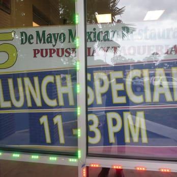 De Mayo Mexican Restaurant And Pupuseria Atlanta Ga