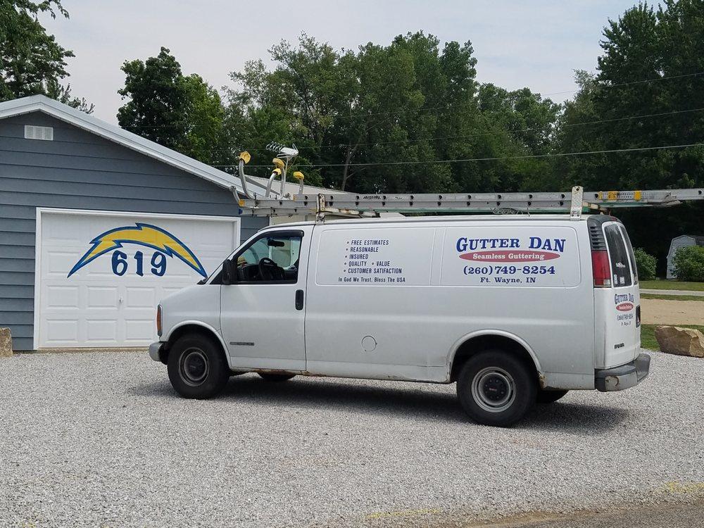 Gutter Dan Seamless Guttering: 7502 Minnich Rd, Fort Wayne, IN