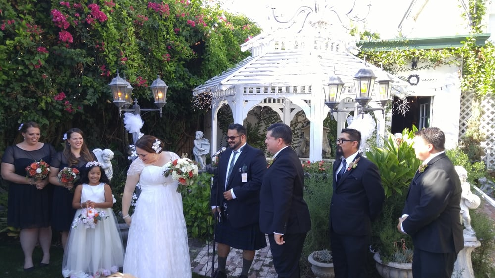 we chose to have our ceremony in front of the gazebo yelp