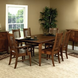 Photo Of Countryside Amish Furniture Arthur Il United States Giles Dining Set