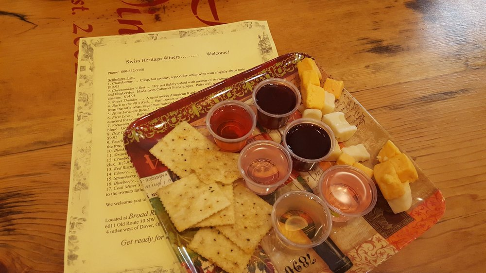 Broad Run Cheese & Swiss Heritage Winery: 6011 Old Rte 39 NW, Dover, OH