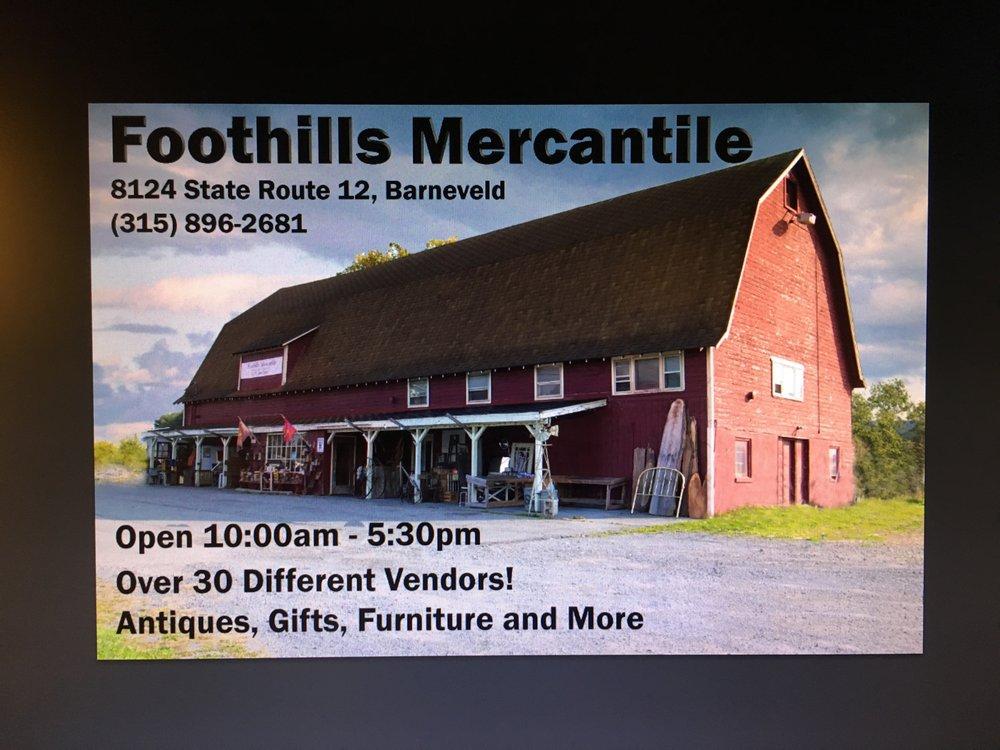 Foothills Mercantile: 8124 NY-12, Barneveld, NY