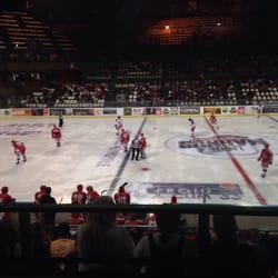 Patinoire Mériadeck - Bordeaux, France. Match de hockey sur glace. Boxers de Bordeaux contre Hormadi d'Anglet