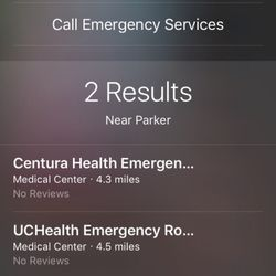 UCHealth Emergency Room - Parker - 26 Reviews - Emergency Rooms
