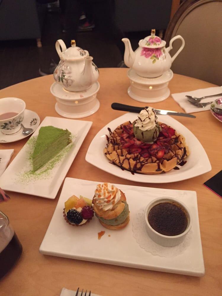 Prince Tea House Crepe Cake