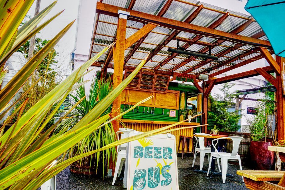 Captured Beer Bus: 113 SE 28th Ave, Portland, OR