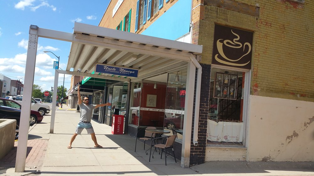 Uncle Nancy's Coffee House & Eatery: 114 N 2nd Ave W, Newton, IA