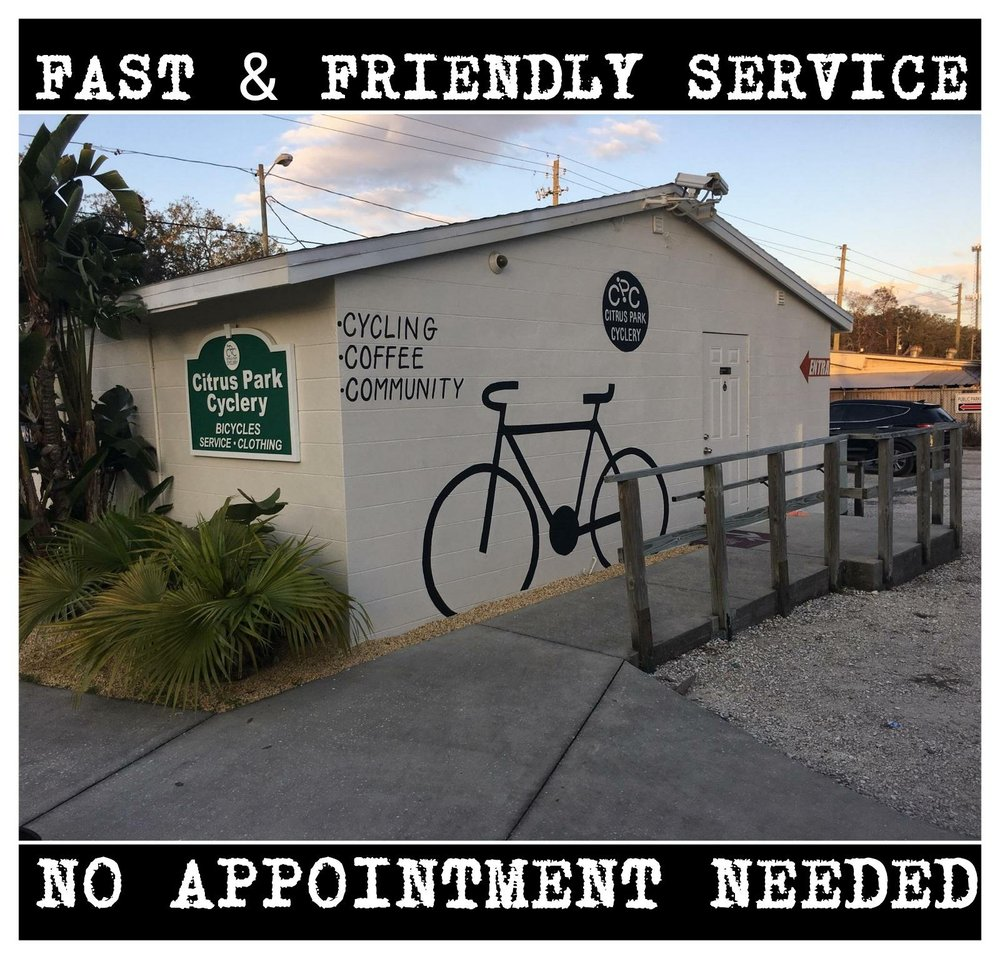Citrus Park Cyclery: 7512 Ehrlich Rd, Tampa, FL