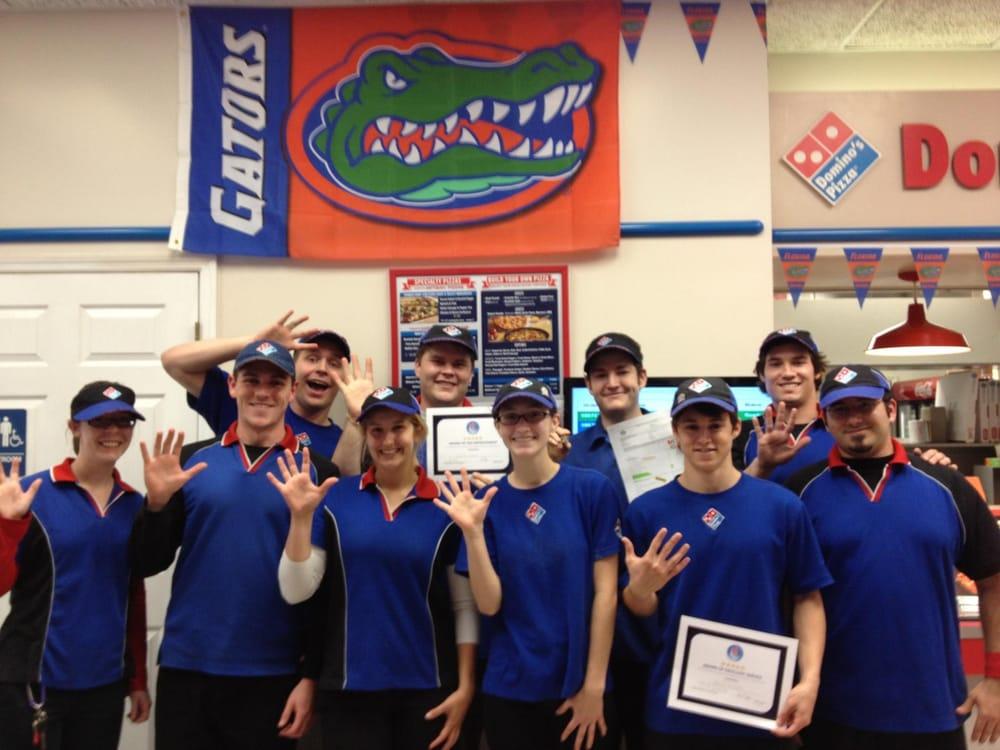 Gator Domino S Pizza Pizza 3309 W University Ave