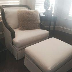 Photo Of EMG Upholstery   McKinney, TX, United States. Beautiful Chair U0026  Ottoman