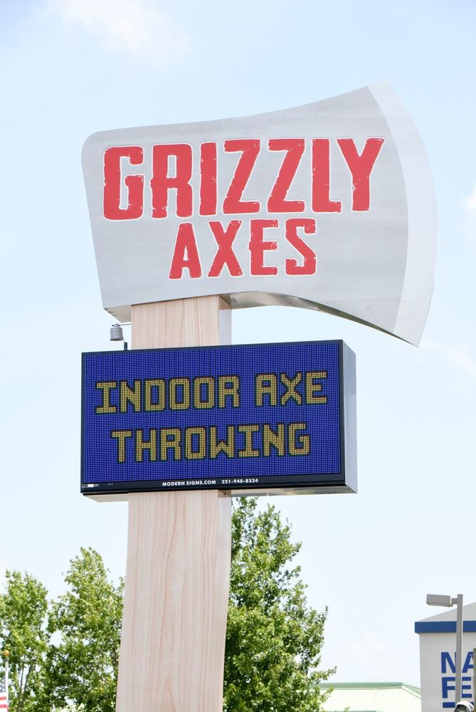 Grizzly Axes: 6300 N Davis Hwy, Pensacola, FL
