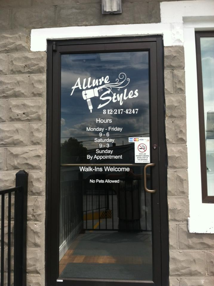 Allure Styles: 501-2 Main St, Lawrenceburg, IN