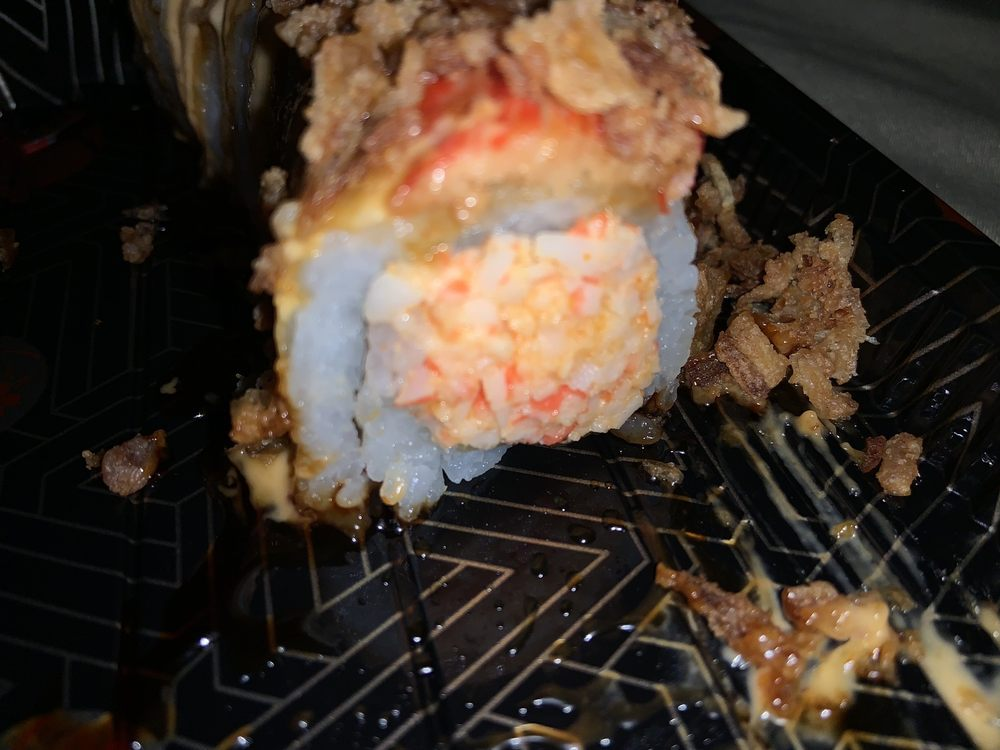 Food from Wako Roll