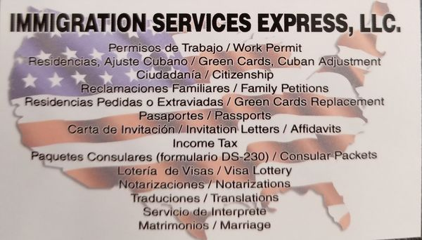 Immigration Services Express Get Quote Tax Services 5209 W