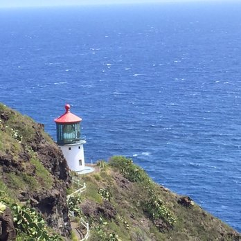 Makapuu Point Lighthouse Photograph by Brian Harig