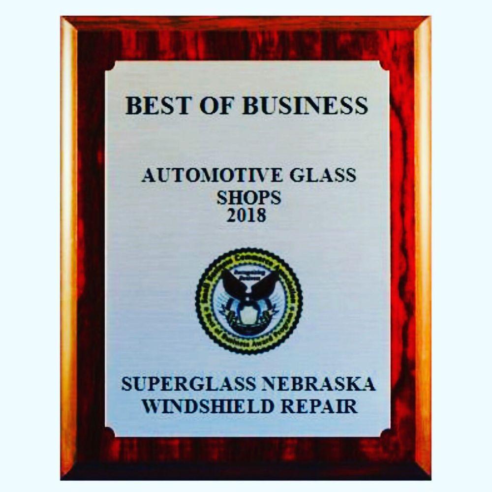 SuperGlass Nebraska Windshield Repair