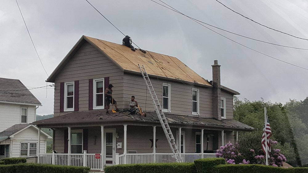 N E P A Roofing & Construction: 563 Cleveland St, Hazelton, PA