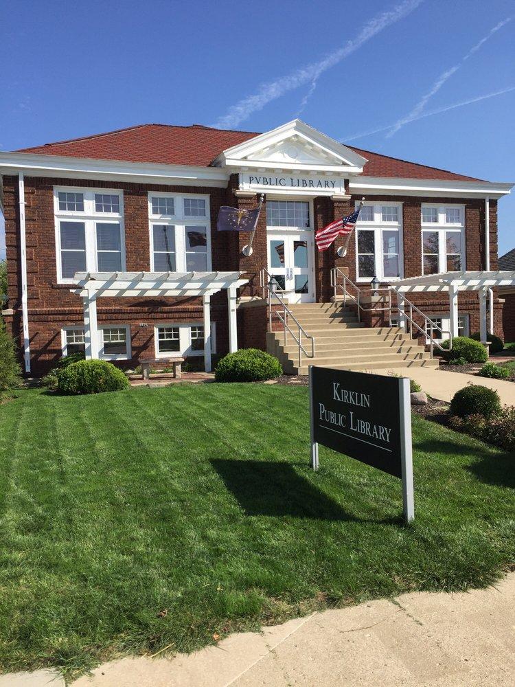 Kirklin Public Library: 115 N Main St, Kirklin, IN