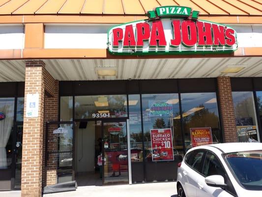 Papa John S Pizza Pizza Columbia Md Reviews