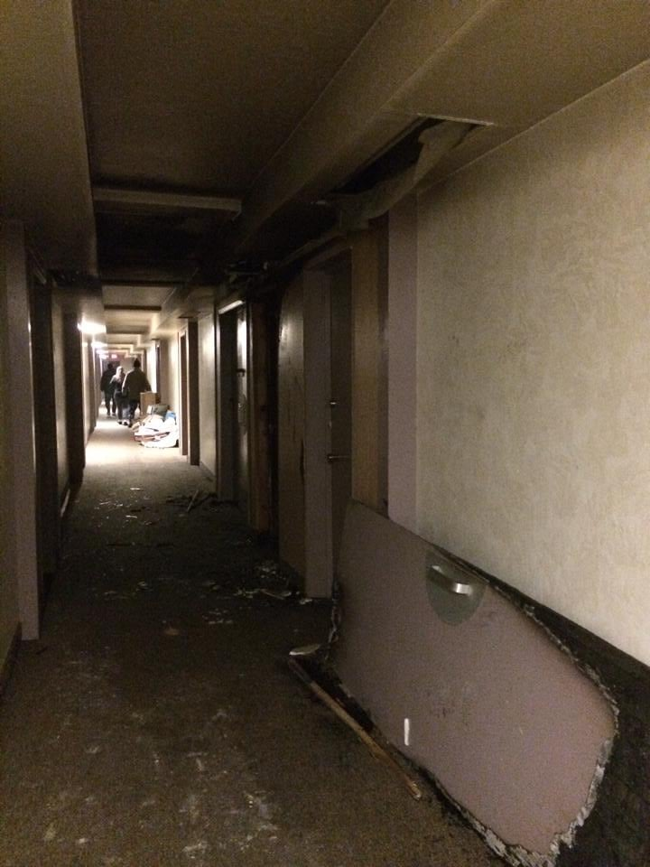 Garbage Chute Fire : Marymount apartment building after garbage chute fire yelp