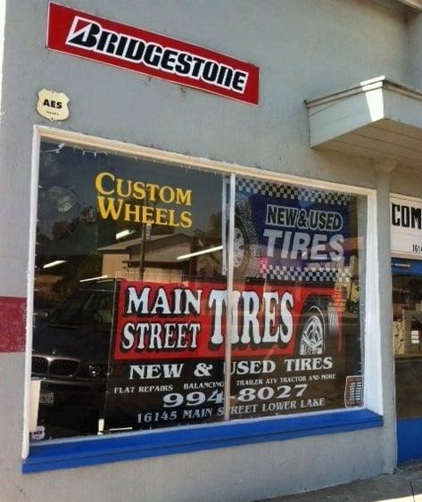 Main Street Tires: 16145 Lake St, Lower Lake, CA