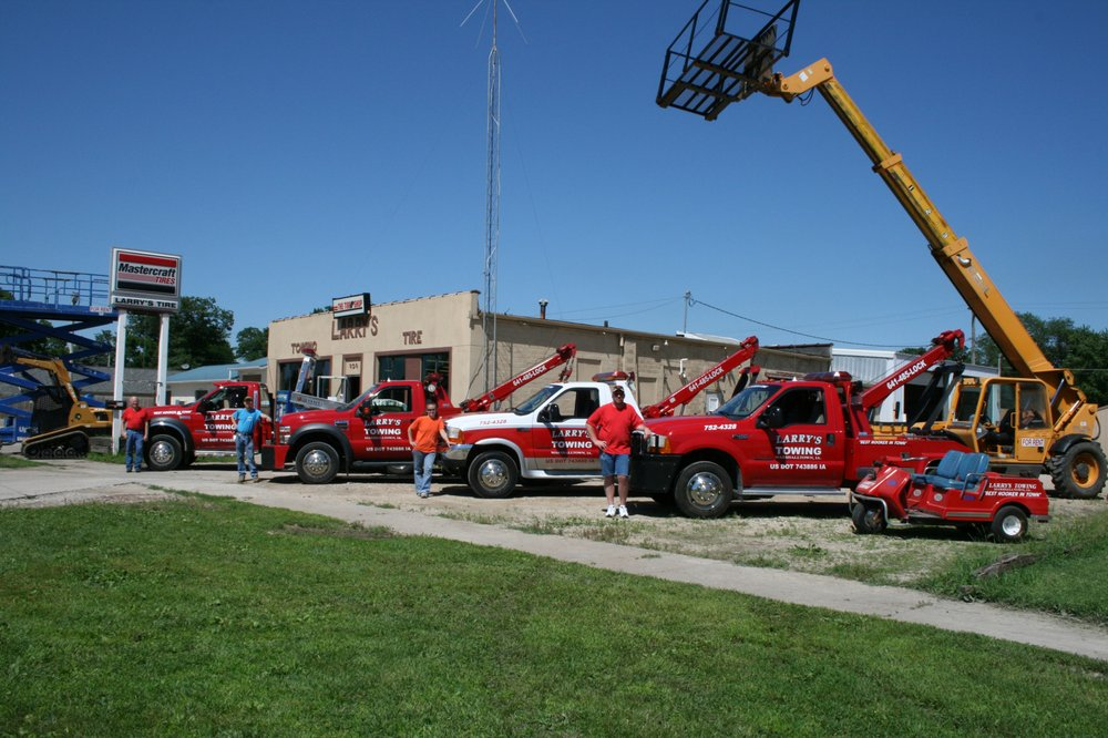 Larry's Towing Tire & Lock: 909 N 3rd Ave, Marshalltown, IA
