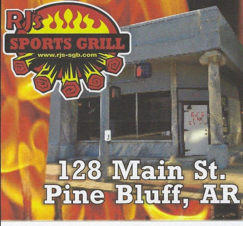 RJ's Sports Grill And Bar: 128 S Main St, Pine Bluff, AR
