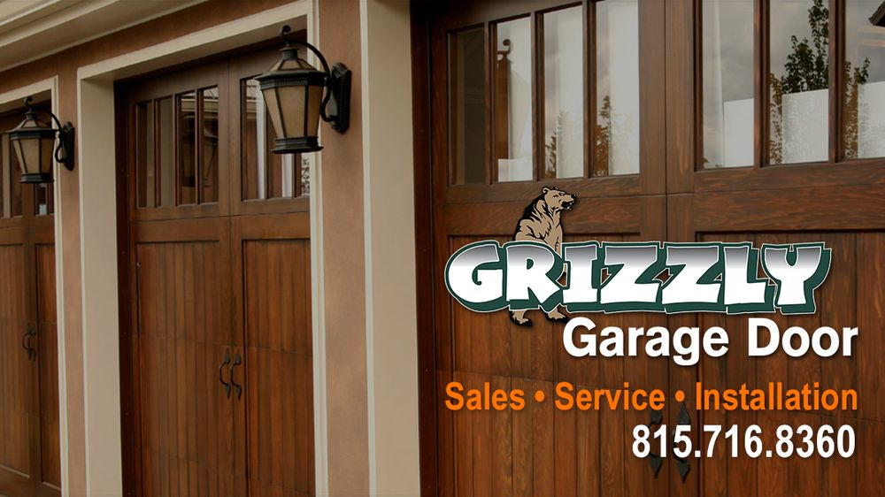 Grizzly Garage Door: 1607 E 4th St, Sterling, IL