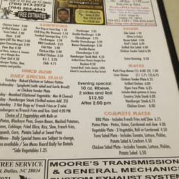 Photo Of The Country Kitchen Dallas Nc United States Menu