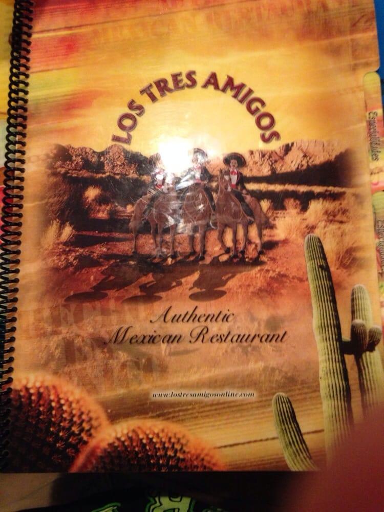 Los Tres Amigos: 1713-1853 E M 21, Owosso, MI