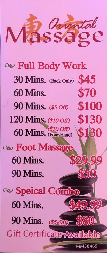 Oriental Massage: 3213 Manatee Ave W, Bradenton, FL