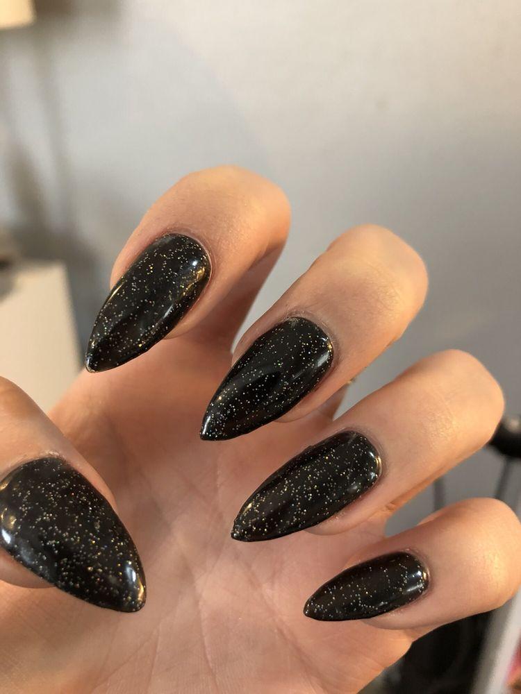 Black Glitter Gel Yelp