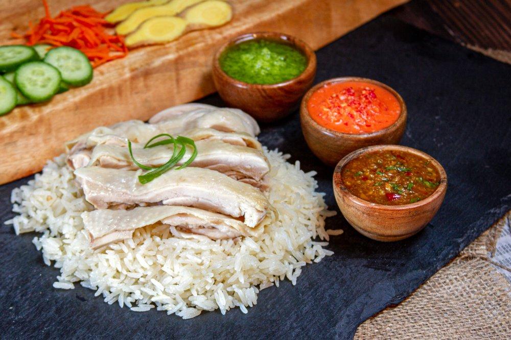 Chicken Meets Rice: 10445 S De Anza Blvd, Cupertino, CA