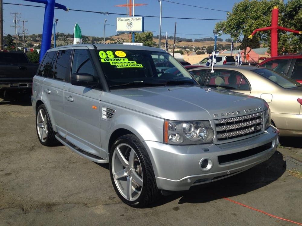 2008 Land Rover Range Rover Sport Supercharged With 22