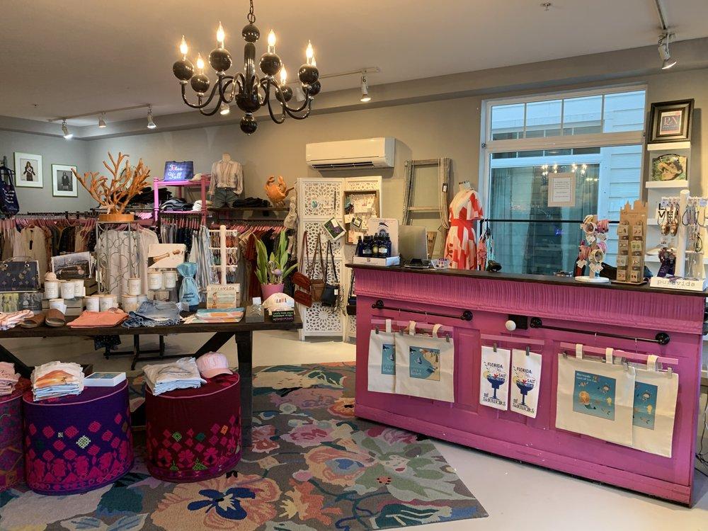 Pink & Navy Boutique: 216 Pine Ave, Anna Maria, FL