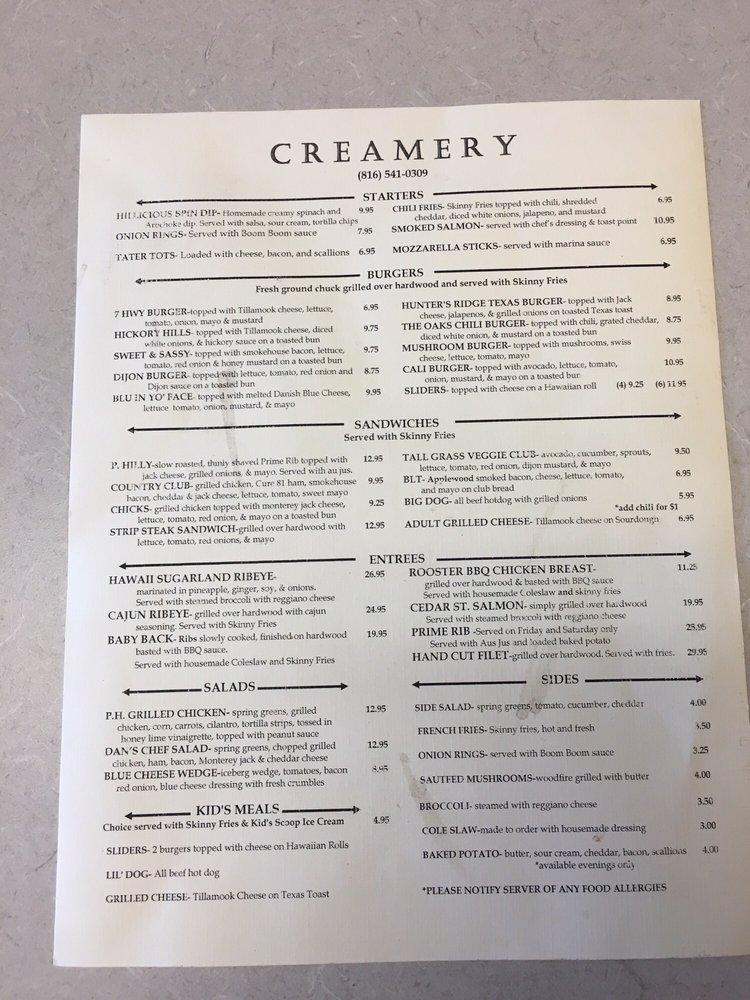 Pleasant Hill Creamery: 1504 N. State Rte 7 Hwy, Pleasant Hill, MO