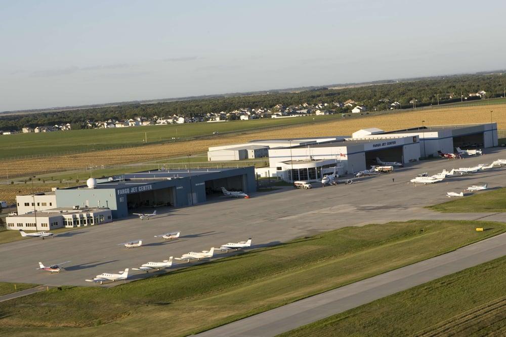 Fargo Jet Center: 3802 20th St N, Fargo, ND