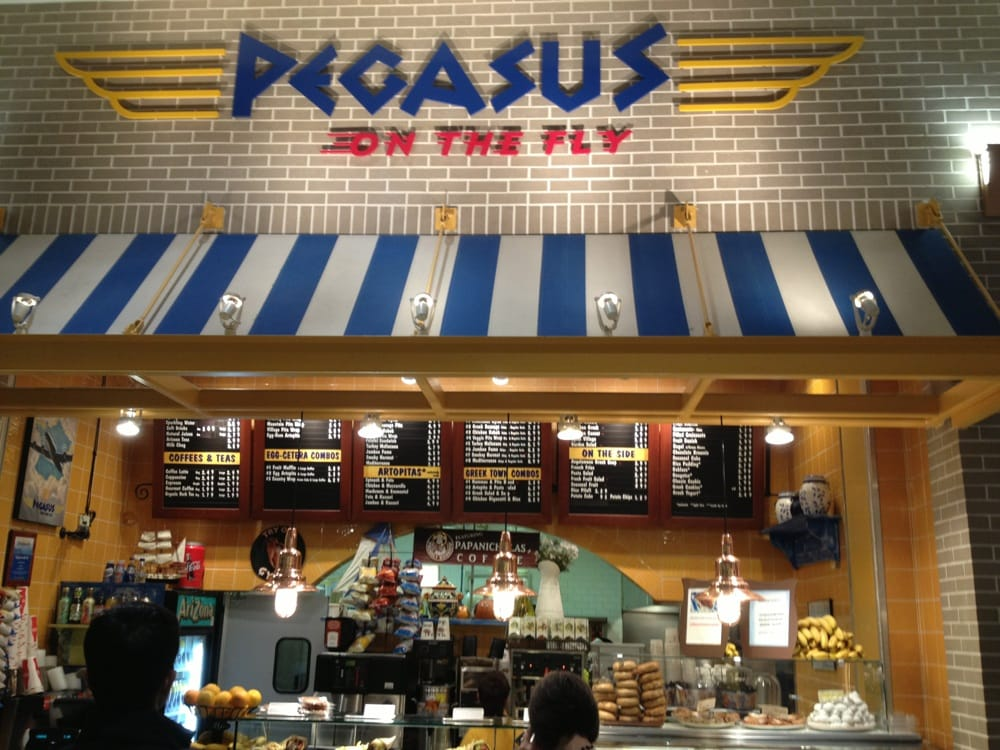 Chicago Midway Airport Food Court
