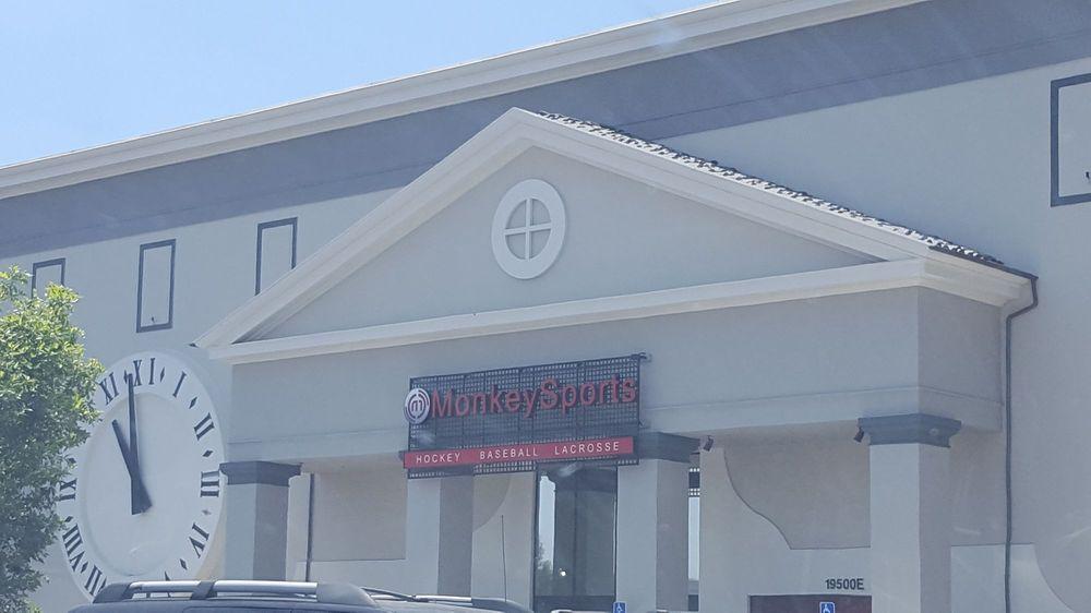 MonkeySports: 19500 East W Plummer St, Los Angeles, CA